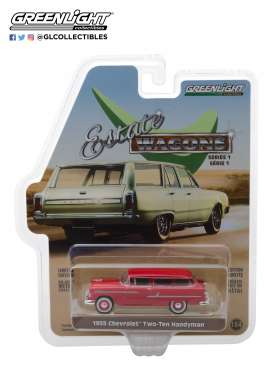 Chevrolet  - 1955 gypsy red - 1:64 - GreenLight - 29910B - gl29910B | The Diecast Company
