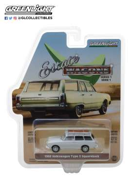 Volkswagen  - 1965 lotus white - 1:64 - GreenLight - 29910D - gl29910D | The Diecast Company