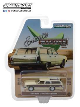 Ford  - 1985 light wheat/ wood - 1:64 - GreenLight - 29910F - gl29910F | The Diecast Company
