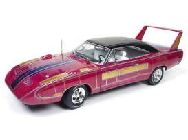 Plymouth  - 1970 purple/gold - 1:18 - Auto World - AMM1113 | The Diecast Company