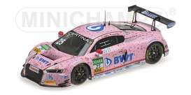 Audi  - R8 LMS 2017 Pink - 1:43 - Minichamps - 437171725 - mc437171725 | The Diecast Company