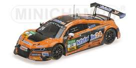 Audi  - R8 LMS 2017 orange/black - 1:43 - Minichamps - 437171724  - mc437171724  | The Diecast Company
