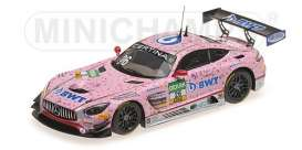 Mercedes Benz  - AMG GT3 2017 Pink - 1:43 - Minichamps - 437173026 - mc437173026 | The Diecast Company
