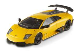 Lamborghini  - 2010 yellow - 1:43 - Hotwheels Elite - mvT6934 - hwmvT6934 | The Diecast Company
