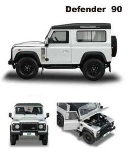 Land Rover  - Defender 2015 silver - 1:43 - Almost Real - ALM410202 | The Diecast Company