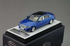Mercedes Benz  - 2016 blue - 1:43 - Almost Real - ALM420105 | The Diecast Company