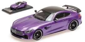 Mercedes Benz  - 2017 purple - 1:43 - Almost Real - ALM420701 - ALM420701 | The Diecast Company