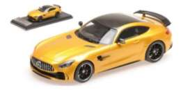 Mercedes Benz  - 2017 yellow - 1:43 - Almost Real - ALM420702 - ALM420702 | The Diecast Company