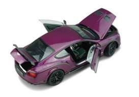 Bentley  - Continental 2015 magenta - 1:18 - Almost Real - ALM830404 | The Diecast Company