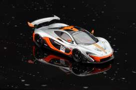 McLaren  - 2015 blue/orange/black - 1:43 - Almost Real - ALM440101 | The Diecast Company