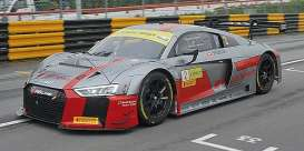 Audi  - R8 LMS 2017 grey/red - 1:43 - Minichamps - mc437171722 | The Diecast Company