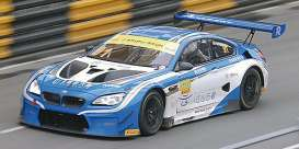 BMW  - M6 GT3 2017 blue/white - 1:43 - Minichamps - mc437172691 | The Diecast Company