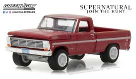 Ford  - F-100 1969 red - 1:64 - GreenLight - gl44800F | The Diecast Company