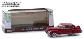 Lincoln  - Continental 1941 mayfair maroon - 1:43 - GreenLight - 86324 - gl86324 | The Diecast Company