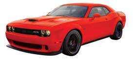 Dodge  - Challenger SRT 2018 red - 1:24 - Motor Max - mmax79350r | The Diecast Company