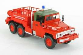 Acmat  - 6x6 red - 1:43 - Magazine Models - fire20 - magfire20 | The Diecast Company