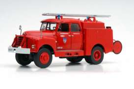 Citroen  - 46 CD 1961 red - 1:43 - Magazine Models - fire29 - magfire29 | The Diecast Company