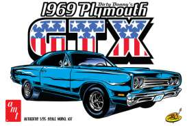 Plymouth  - 1969  - 1:24 - AMT - amts1065 | The Diecast Company