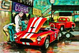 Ford Shelby - 1:24 - AMT - amts1073 | The Diecast Company