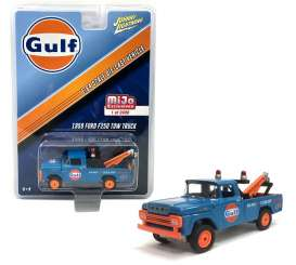 Ford  - 1959 blue/orange - 1:64 - Johnny Lightning - JLCP7034 | The Diecast Company
