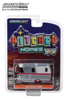 Holiday House  - 1959 silver/white - 1:64 - GreenLight - 34040A - gl34040A | The Diecast Company