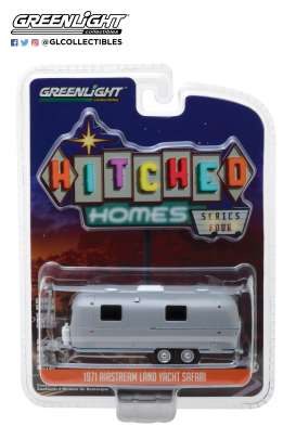 Airstream  - Double-Axle Trailer 1971  - 1:64 - GreenLight - 34040B - gl34040B | The Diecast Company