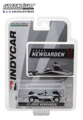 Chevrolet  - Indy Car #1 2018 silver/black - 1:64 - GreenLight - gl10815 | The Diecast Company