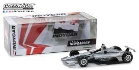 Chevrolet  - Indy Car #1 2018 silver/black - 1:18 - GreenLight - gl11037 | The Diecast Company