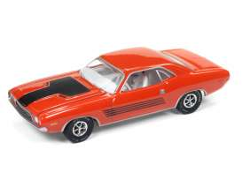 Dodge  - Challenger Rallye 1972 hemi orange - 1:64 - Auto World - AWSP003B | The Diecast Company