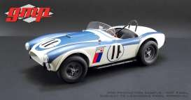 Shelby  - Cobra 289 Competition CSX2011 1963 white/blue - 1:12 - GMP - 12803 - gmp12803 | The Diecast Company