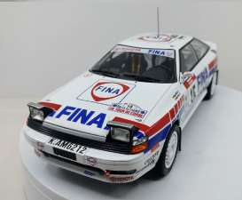Toyota  - Celica #15 1991 white/red/blue - 1:18 - Triple9 Collection - T9-1800200 | The Diecast Company
