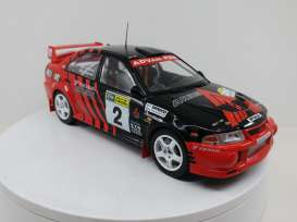 Mitsubishi  - Lancer EVO VI #2 1999 red/black - 1:18 - Triple9 Collection - 1800210 - T9-1800210 | The Diecast Company
