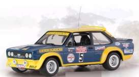 Fiat  - 1977 blue/yellow - 1:43 - IXO Models - rac266 - ixrac266 | The Diecast Company