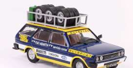 Fiat  - 1975 blue/yellow - 1:43 - IXO Models - ixrac268 | The Diecast Company