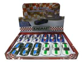 Bentley  - Continental GT Speed 2012 various - 1:36 - Kinsmart - KT5369F | The Diecast Company