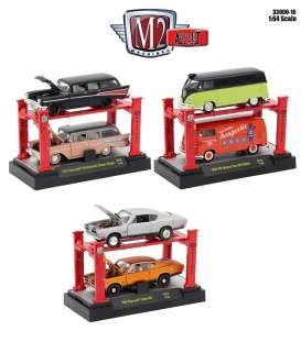 Assortment/ Mix  - various - 1:64 - M2 Machines - m2-33000-16 | The Diecast Company