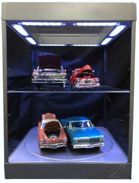 Accessoires diorama - 2018 silver - Triple9 Collection - 69929s - T9-69929s | The Diecast Company