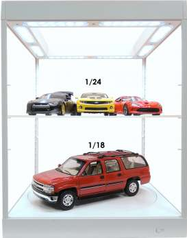Accessoires diorama - 2018 white - Triple9 Collection - 69929w - T9-69929w | The Diecast Company