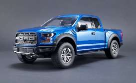 Ford  - Raptor pick-up 2017 lightning blue - 1:18 - GT Spirit - GTUS009 | The Diecast Company