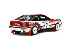 Toyota  - Celica ST165 #2 1991 red/white - 1:18 - OttOmobile Miniatures - 239 - otto239 | The Diecast Company