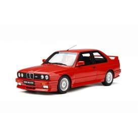 BMW  - E30 M3 red - 1:18 - OttOmobile Miniatures - otto695 | The Diecast Company