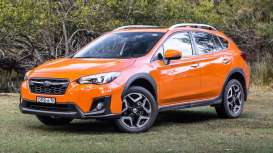 Subaru  - XV 2014 sunshine orange - 1:43 - Vitesse SunStar - vss50031 | The Diecast Company