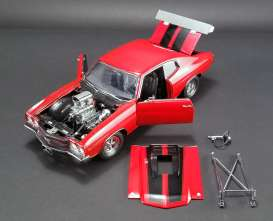Chevrolet  - Chevelle *Drag Outlaws* 1970 red/black - 1:18 - Acme Diecast - 1805511 - acme1805511 | The Diecast Company