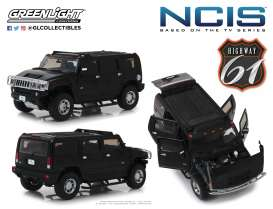 Hummer  - H2 *NCIS* 2006 dark grey - 1:18 - Highway 61 - hwy18013 | The Diecast Company