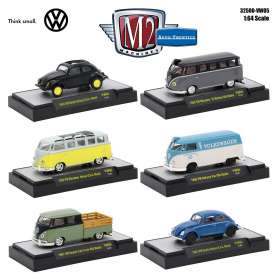 Volkswagen  - various - 1:64 - M2 Machines - M2-32500VW5 | The Diecast Company