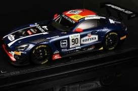 Mercedes Benz AMG - AMG GT3 #90 2017 dark blue - 1:18 - Paragon - 88022 - para88022 | The Diecast Company