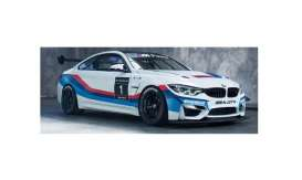 BMW  - M4 GT4 #1 2017 white/red/blue - 1:18 - Paragon - 97127 - para97127 | The Diecast Company