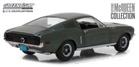 Ford  - Mustang GT fastback 1968 green - 1:18 - GreenLight - 13523 - gl13523 | The Diecast Company