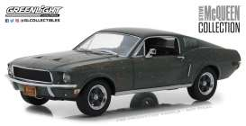 Ford  - Mustang GT fastback 1968 green - 1:24 - GreenLight - 84043 - gl84043 | The Diecast Company