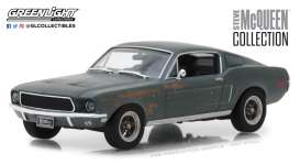 Ford  - Mustang GT fastback  1968 green - 1:43 - GreenLight - 86437 - gl86437 | The Diecast Company
